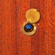 peephole — Stock Photo