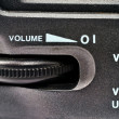 Volume control wheel — Stock Photo