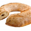 Ring-shaped Italian bread loaf — Foto de Stock