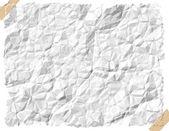 Zmięty papier — Zdjęcie stockowe
