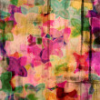 Abstract floral background — ストック写真