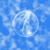 Soap bubble — Stock Photo