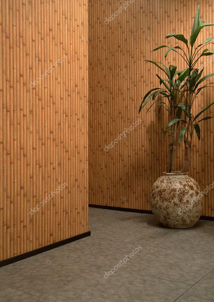 Бамбуковые обои в интерьере 38 фото: где и как