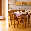 Pleasant Dining Table — Stock Photo #2496573