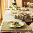 Pleasant Dining Table - Stock Photo