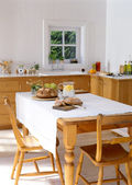 Pleasant Dining Table — Stock Photo