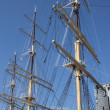 Stock Photo: Three masts