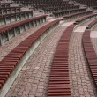 Stock Photo: Benches at amphitheatre