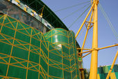 Stadium construction — Stock Photo