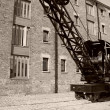 Rail crane — Stock Photo #2236723