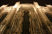 Cathedral in Milan — Stock Photo