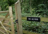 No Access — Stock Photo