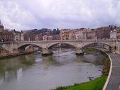Bridge in Rome — Stock Photo