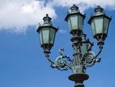 Street lamp in the sky — Stock Photo