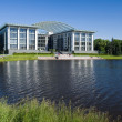 Building on the lake — Stock Photo #2146785