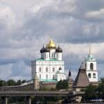 Cathedral in Kremlin of Pskov — Stock Photo #2160913