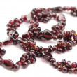 Royalty-Free Stock Photo: Necklace from garnet