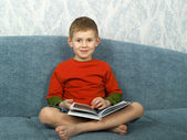 Portrait of the little boy — Stock Photo