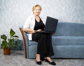 The business woman — Stock Photo