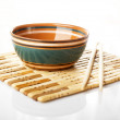 Stock Photo: Chopstick cup