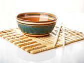 Chopstick cup — Stock Photo