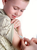 The injection — Stock Photo
