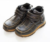 Children's boots — Stock Photo