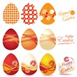 Colorful Easter eggs — Stock Vector #2215749