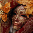 Venetian carneval mask — Stock Photo