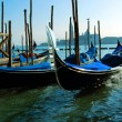 gondeln in venedig — Stockfoto #2365506