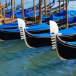 Gondolas in Venice - Stock Photo