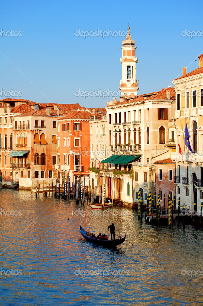 Photo of Grand canal in Venice — Photo #2429985