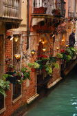 Romantic building in Venice — Stock Photo