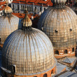 Stock Photo: St. Mark's Basilica roof