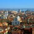 Stock Photo: Aerial view of Venice city