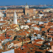 Foto Stock: Aerial view of Venice city