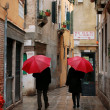 Raining day in Venice — Stock Photo