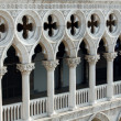 Doge's Palace detail, Venice — Stock Photo
