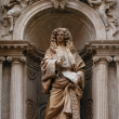 Santa Maria della Salute detail, Venice - Stock Photo