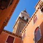Venetian church tower — Stock Photo