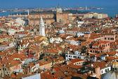 аэрофотосъемка города венеция — Стоковое фото