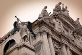 Santa Maria della Salute detail, Venice — Stock Photo