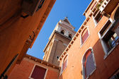 Venetian church tower — Stock Photo