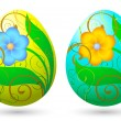 Royalty-Free Stock Vektorgrafik: Easter eggs 1