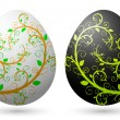 Royalty-Free Stock Векторное изображение: Easter eggs 2