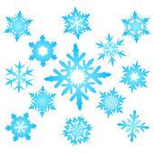 Snowflakes — Stock Vector