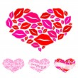 Hearts for Valentine's Day — Stockvectorbeeld