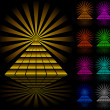 Royalty-Free Stock Vectorafbeeldingen: Pyramids