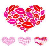 Srdce pro valentýna — Stock vektor