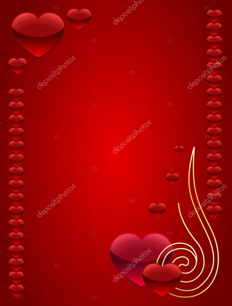 Card for Valentine's day — 图库矢量图片 #2135053